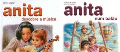 Anita deixou de descobrir a música.