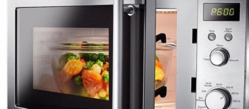 Cocinar verduras con microondas