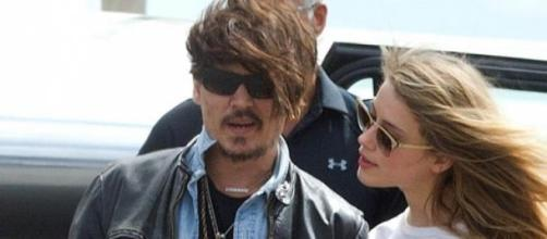 Johnny Depp e Amber Heard na Austrália