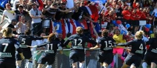 Les joueuses du Paris Saint-Germain
