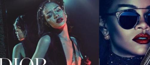 Rihanna deslumbra na primeira campanha para a Dior