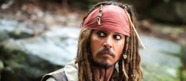 Depp está a gravar mais um Pirata das Caraíbas