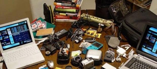'Gadgets' que uno acumula y a veces, no utiliza