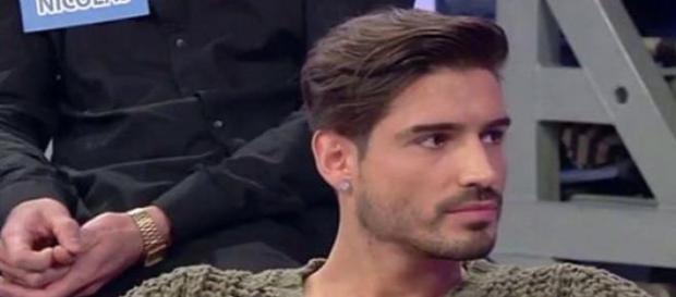 Il tronista argentino, Fabio Colloricchio.