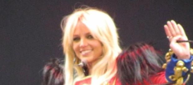 La cantante Britney Spears en Boston