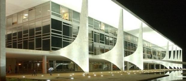 Palácio do Planalto onde foi feita a votação
