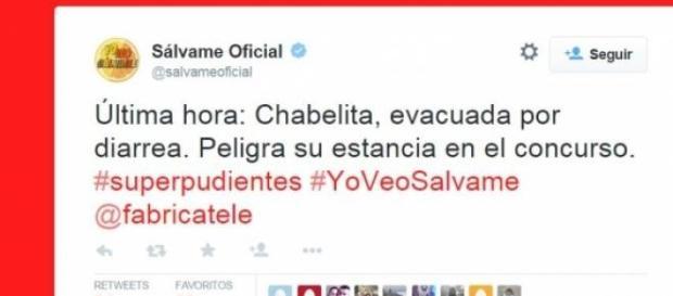 Pantallazo del Tweet de Telecinco
