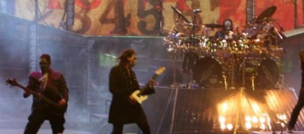 Slipknot en un show de 2008