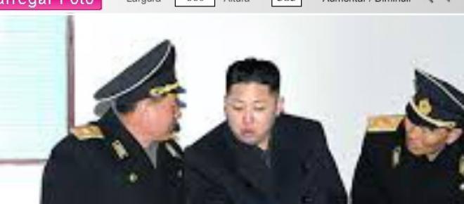 Kim Jong-un líder da Coreia do Norte