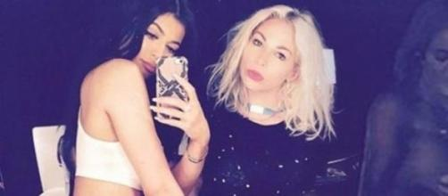 A foto de Kylie que expôs a irmã Khloé