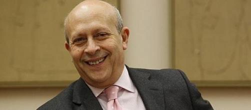 El Ministro de Educación Jose Ignacio Wert