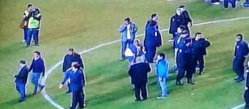 Imagen del partido de fútbol Boca-River
