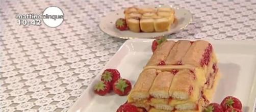 Le ricette di Samya, dolce di savoiardi