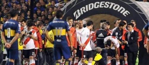 Los futbolistas afectados por el gas pimienta