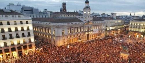Manifestación del 15 M en Madrid
