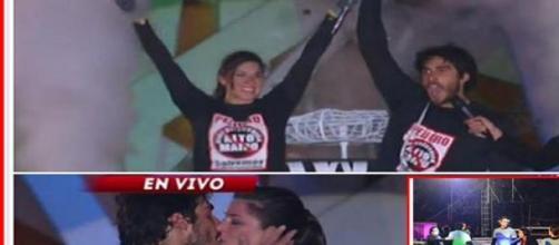 Pedro y Romina ganadores de 'Amor a Prueba'