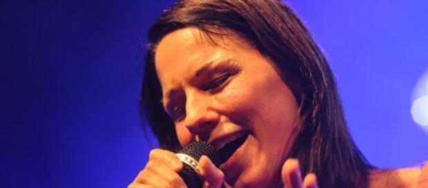 Christina Stürmer am 17.5.15 im ZDF Fernsehgarten