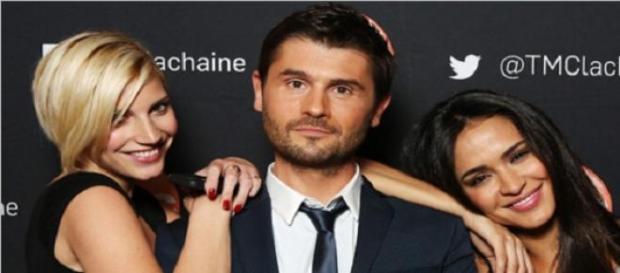 Nadège, Leila et Christophe Beaugrand