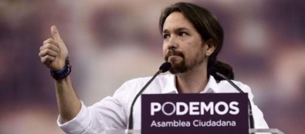 Pablo Iglesias, przewodniczący Podemosu