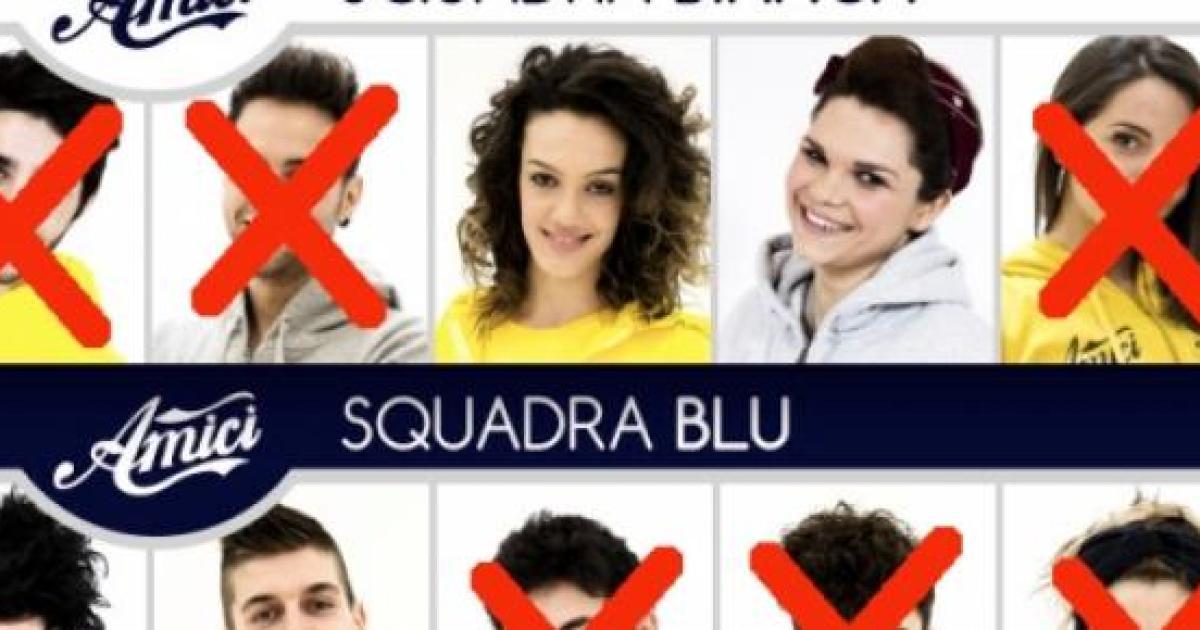 Eliminato luca tudisca ad amici 2015 nella sesta puntata for Ospiti ad amici