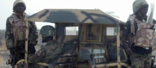 As tropas do Boko Haram invadem Marte, em Borno