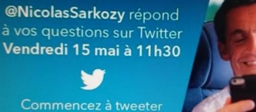 Nicolas Sarkozy et la démocratie numérique.