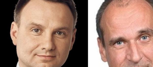 Andrzej Duda i Paweł Kukiz