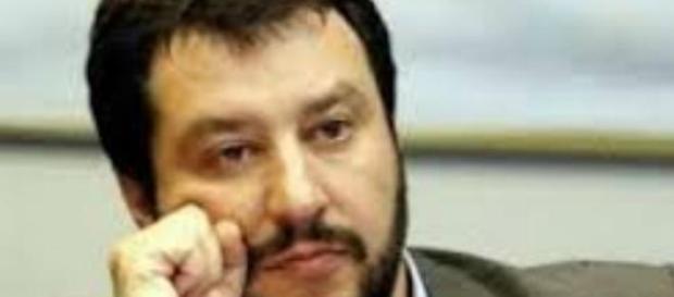 Due feriti ad un comizio di Salvini