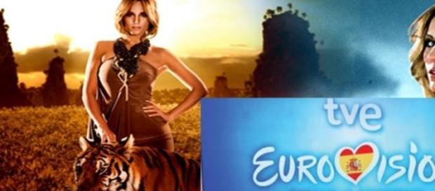 Gran polémica por la tigresa en el vídeo de Edurne