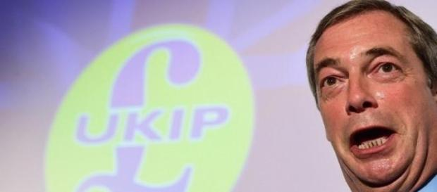 Nigel Farage, leader dell'Ukip