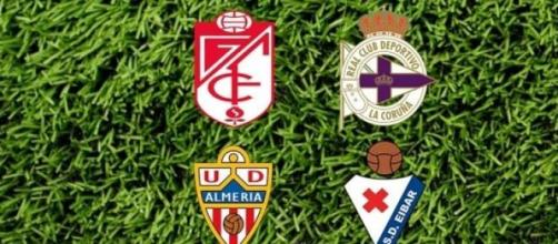 Cuatro equipos, dos puestos en Primera División