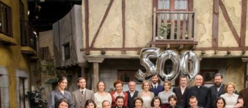 Il cast de Il Segreto al gran completo