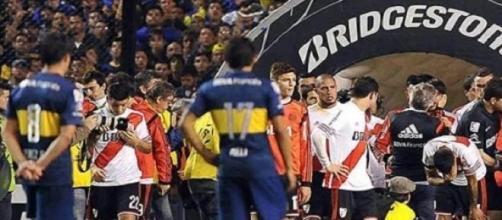 La imágen de la derrota: Boca-River, no continúa