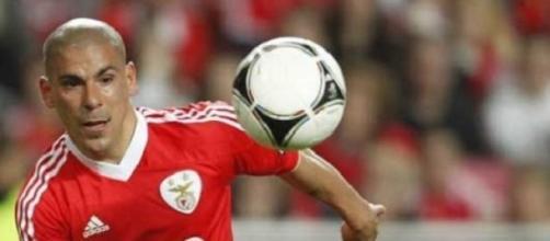 Maxi Pereira, jogador do Benfica