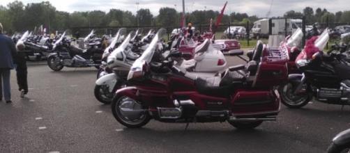 Quelques mythiques Honda venues à Moulins.