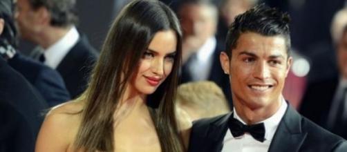 Ronaldo não resistiu ao sexo feminino.