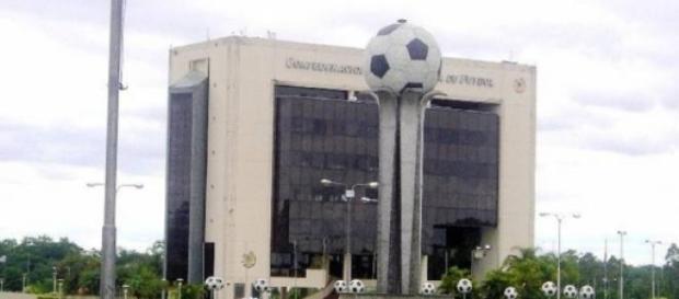 Edificio de la Conmebol, en Paraguay