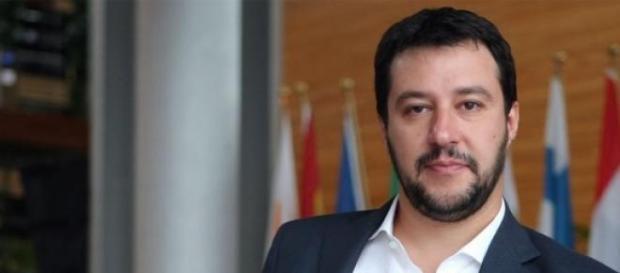Matteo Salvini, segretario della Lega Nord.