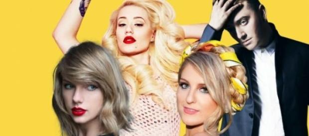 Taylor Swift é a artista com mais indicações