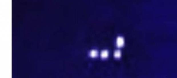 Ufo a Macerata sopra campo di baseball?