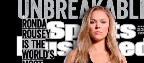 Ronda au sommet, sur le Sports Illustrated