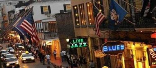 Bourbon Street, en el corazón de Nueva Orleans