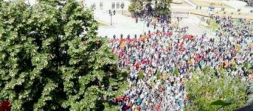 La rivoluzione macedone appoggiata dall'occidente