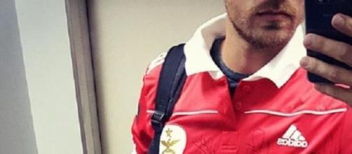 Lourenço Ortigão festeja a vitória do Benfica