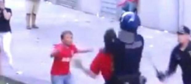 Agressões foram presenciadas por crianças