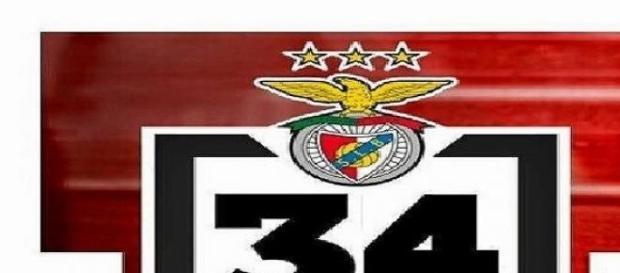 Benfica conquistou o seu 34º campeonato