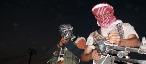 Combatientes de Estado Islámico en Siria