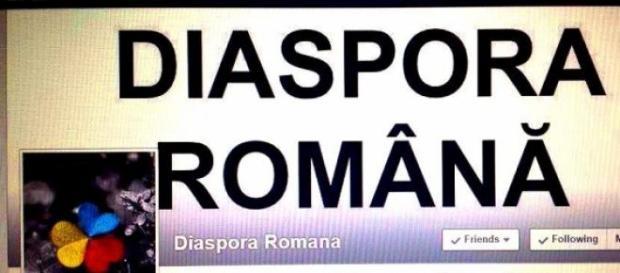 Diaspora română pe Facebook