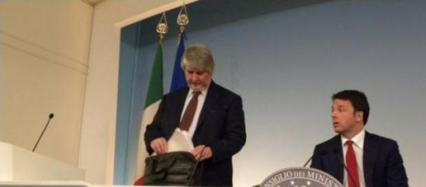Governo Renzi e Pensioni. foto Simona Pagliarini