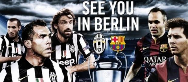 Juventus - Barcelona, do zobczenia w Berlinie